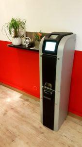 Borne d'encaissement d'argent automatique – Aurama-swiss.ch